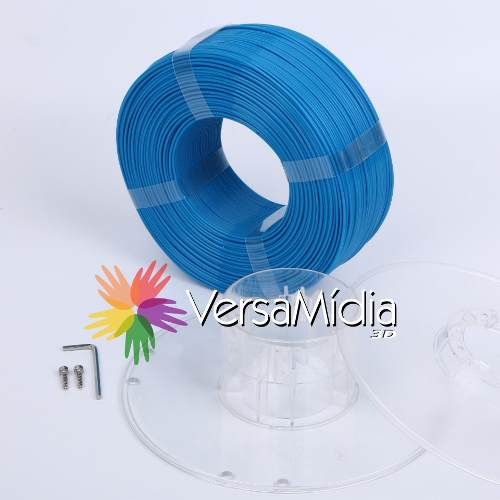 REFIL Filamento Pla Versamídia 3d  Azul Escuro Dark Blue