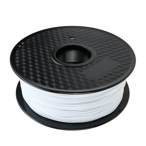 Filamento Abs White Versamídia 3d Black Spool