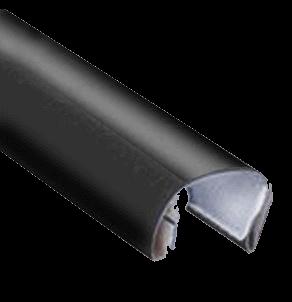 Canaletas SteelBack Com Resina Hotmelt para Construção de Capas de Encadernação Térmica   ( Letter )  25un