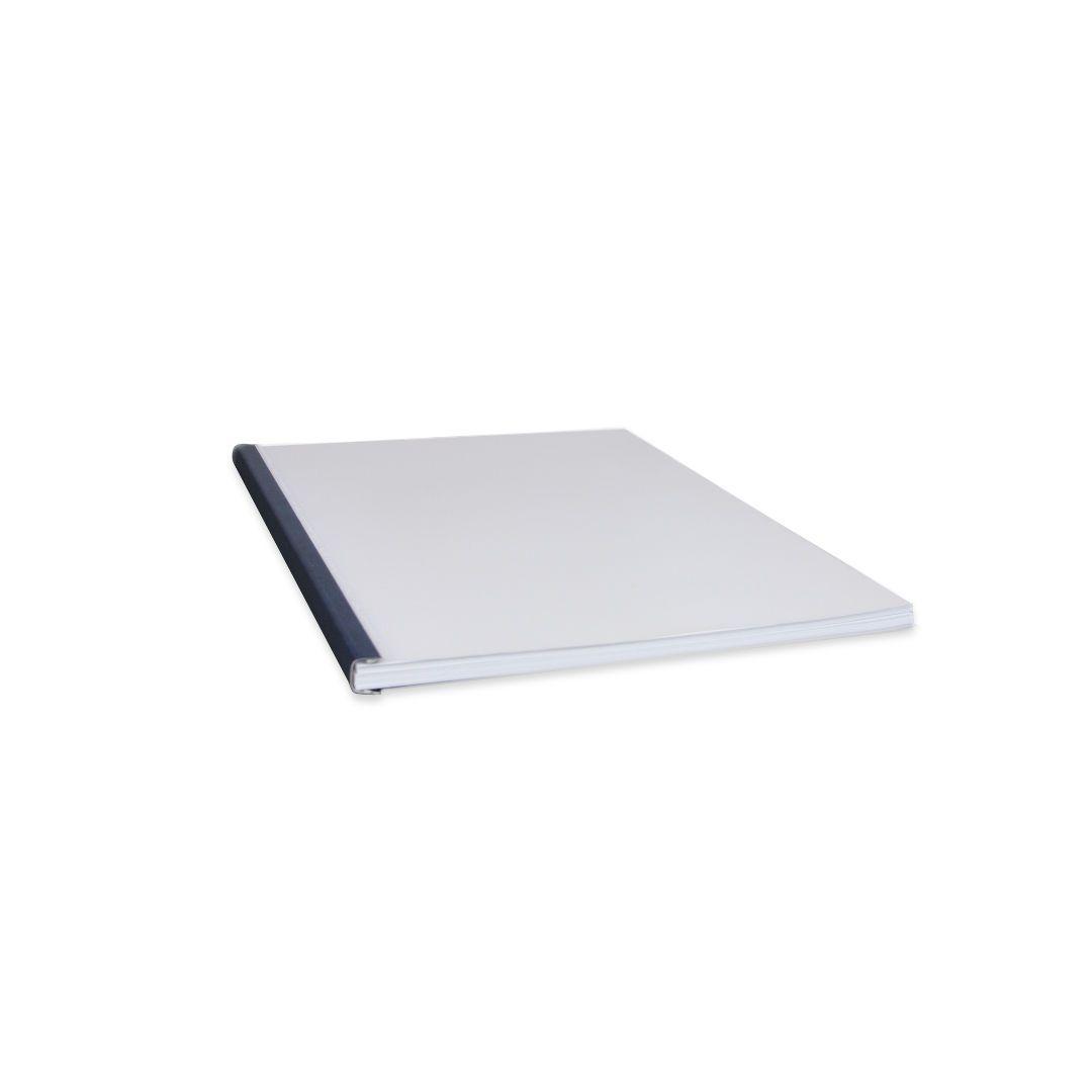 Capas Encadernação Térmica Steel Crystal Letter  25 un. cód. 280001 a  280024