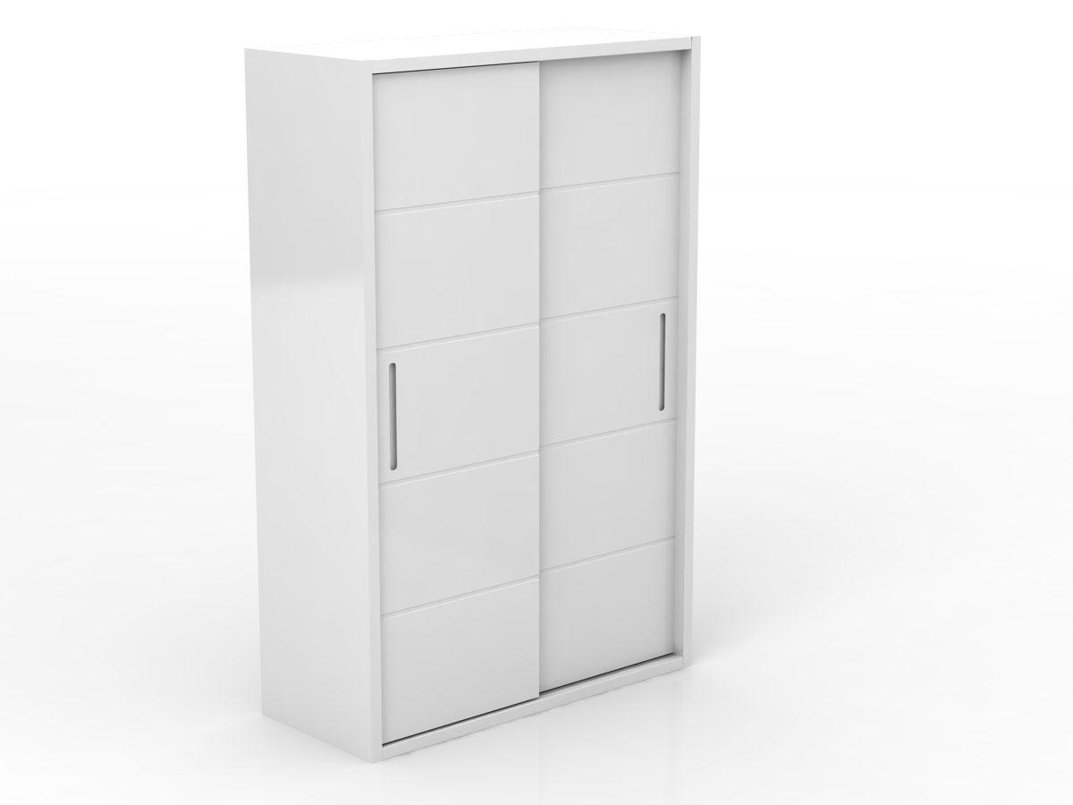 Linha Square - Armário 2 portas menor - Branco