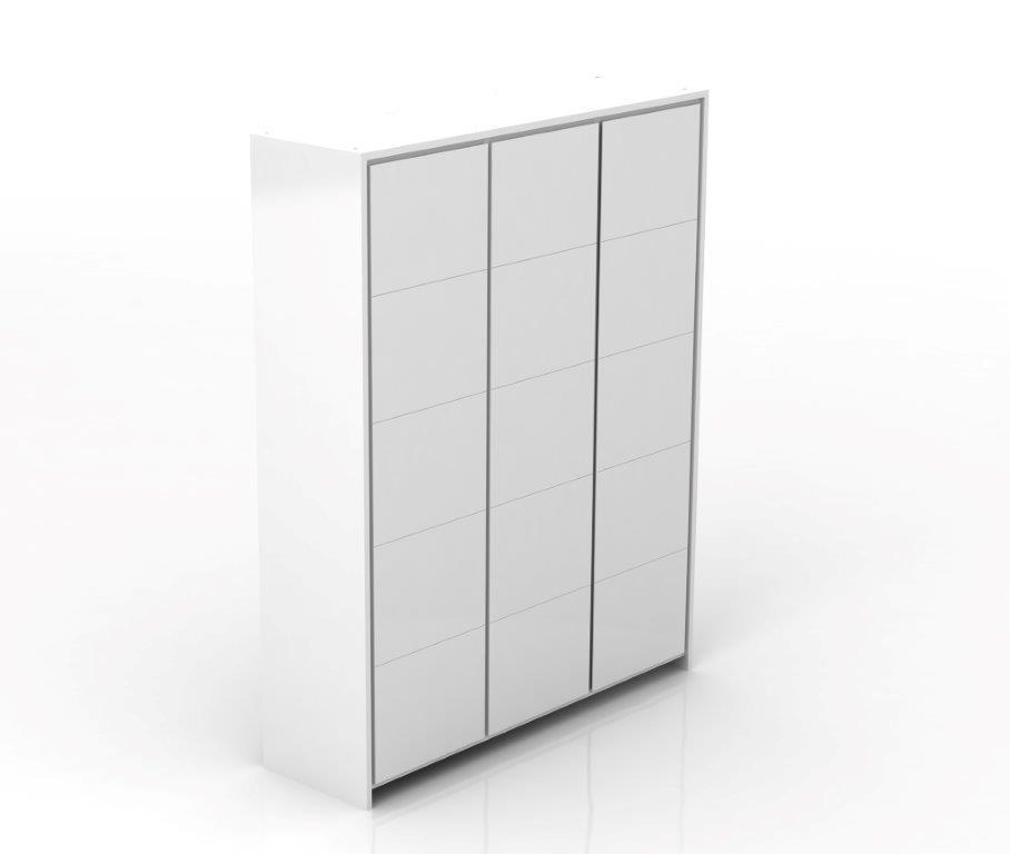 Linha Beabá - Armário 3 Portas - Branco