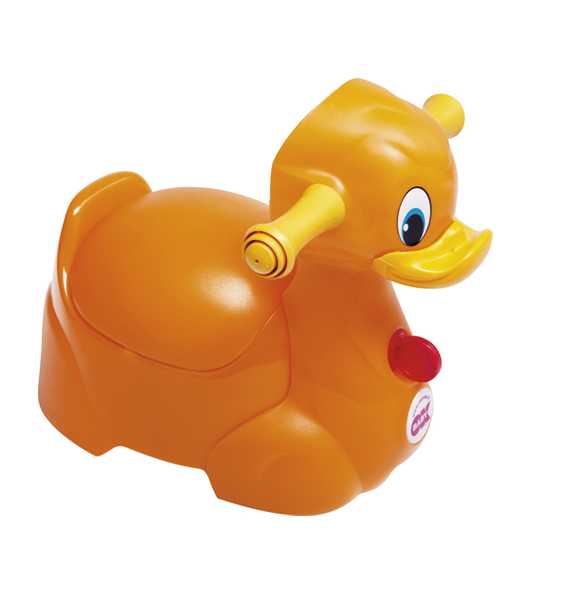 Penico para bebês Quack - Laranja