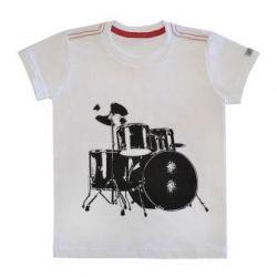 Camiseta - Funny - Bateria