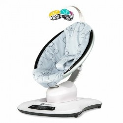 Cadeira Mamaroo 4.0 Silver Plush - 4Mooms