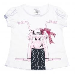 Camiseta - Funny - Moto - Girls