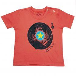Camiseta Funny Vinil Framboesa