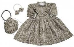 Kit Vestido Petra - Com Bolsa