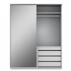 Linha Lars - Armário Porta Com Espelho