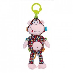 Pelucia Musical Pull String - Monkey Martha