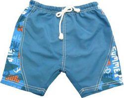 Short para Banho Banz - Board Blue Surfer - Proteção UPF 50+