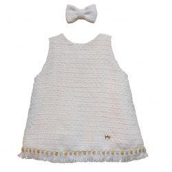 Kit Vestido Lisa - Off White