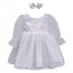 Vestido Clarice - Mangas Bufante Tule