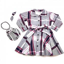 Kit Vestido Karen - Com Bolsa