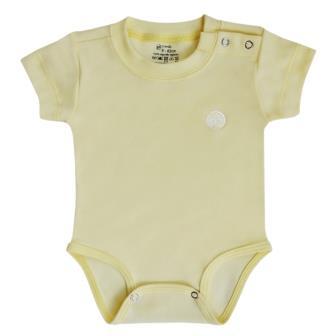 Body Essencial Amarelo Claro
