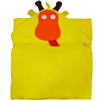 Toalha com Capuz - Girafa