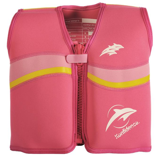 Colete Natação Neoprene Fuschia Pink - Konfidence