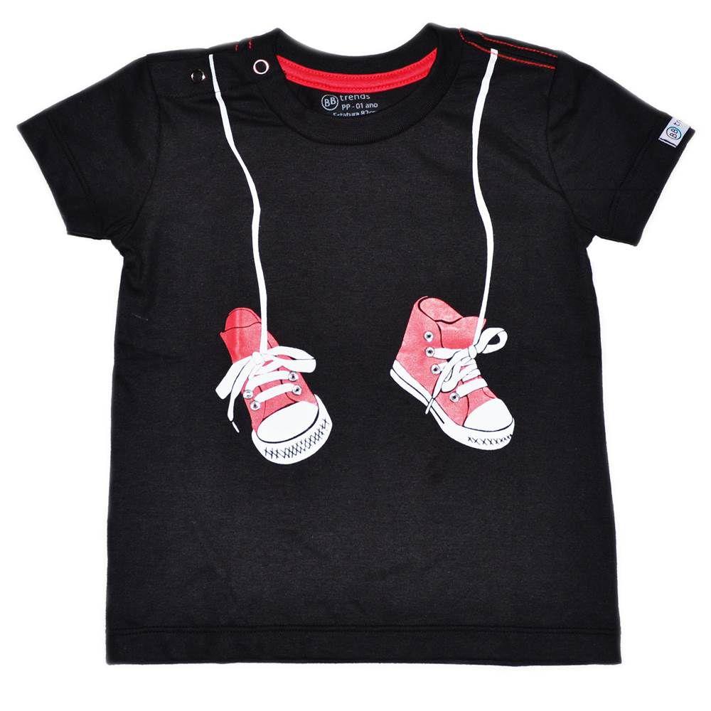 Camiseta - Funny - Tênis Pendurados