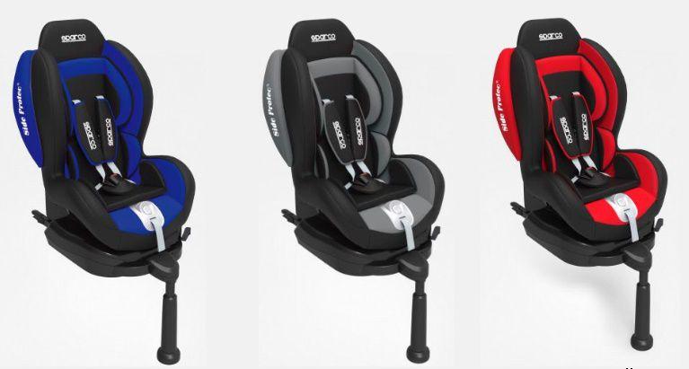 Cadeira F500i Sparco - Isofix - 9 à 18 Kg - Cinza