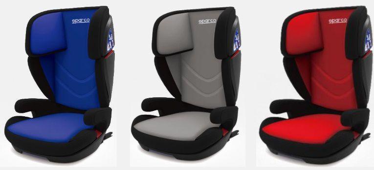 Cadeira F700i Sparco - Isofix - 15 à 36 Kg - Azul