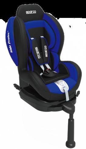 Cadeira F500i Sparco - Isofix - 9 à 18 Kg - Azul