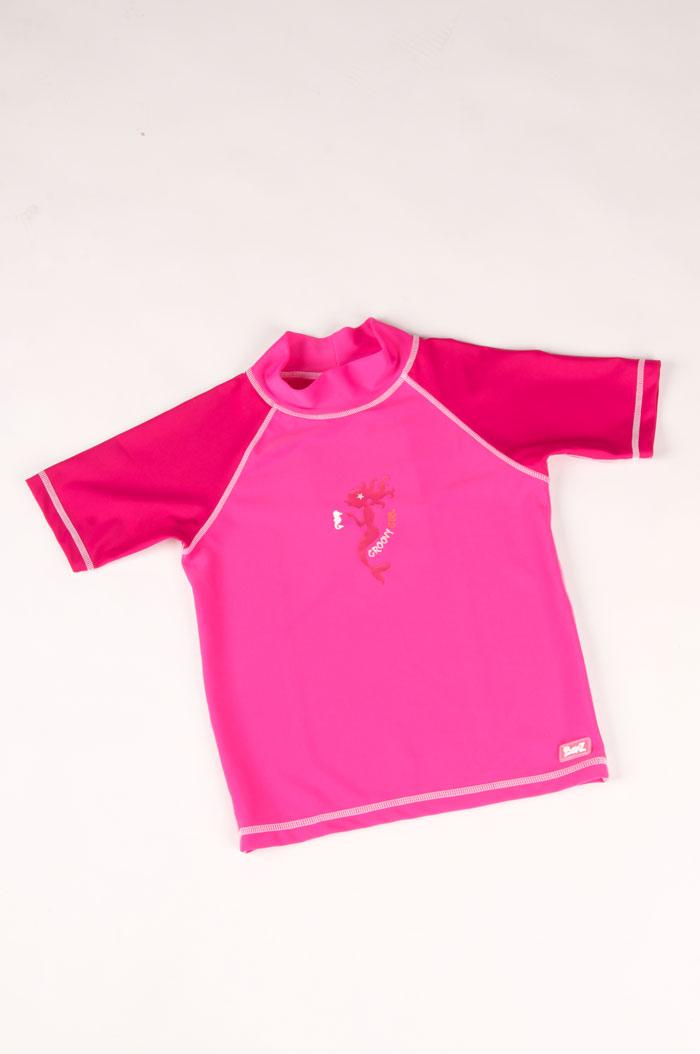 Camiseta para Banho Banz - Proteção UPF 50+ - Pink