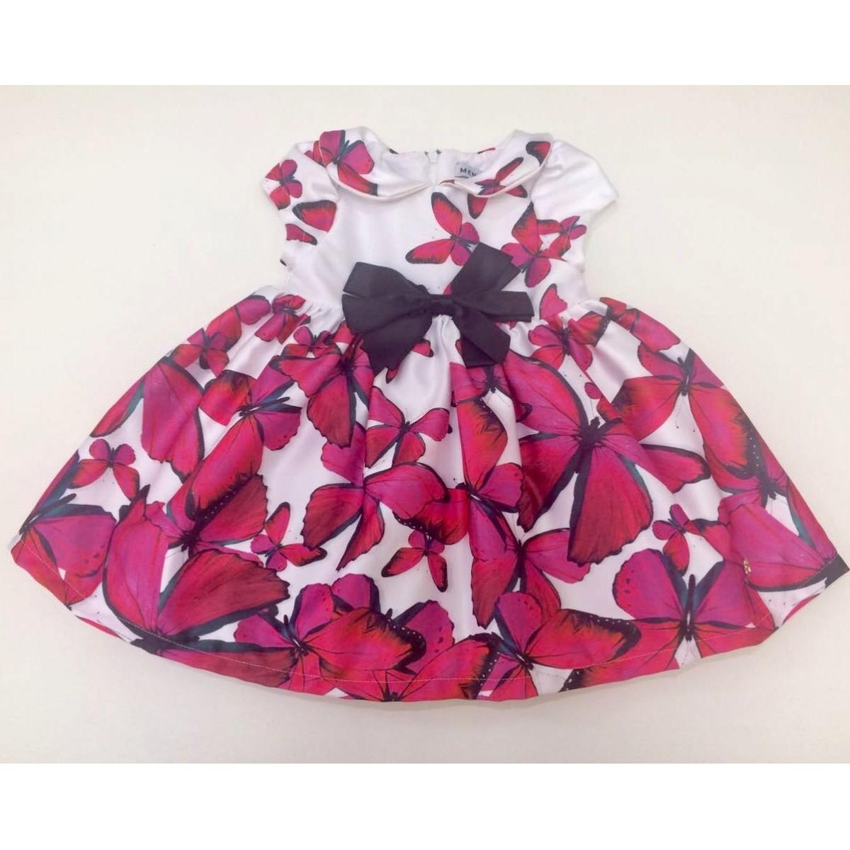 Vestido Lila - Borboletas