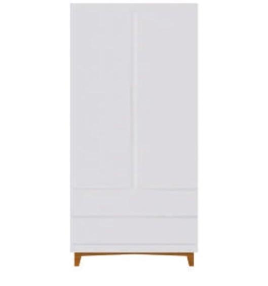 Linha Eco  - Armário - Branco -  2 portas