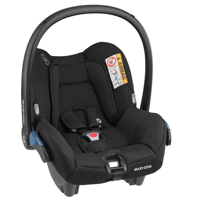 Bebê Conforto Citi c/ Base - 0 à 13 Kg - Essential Black - Maxi Cosi