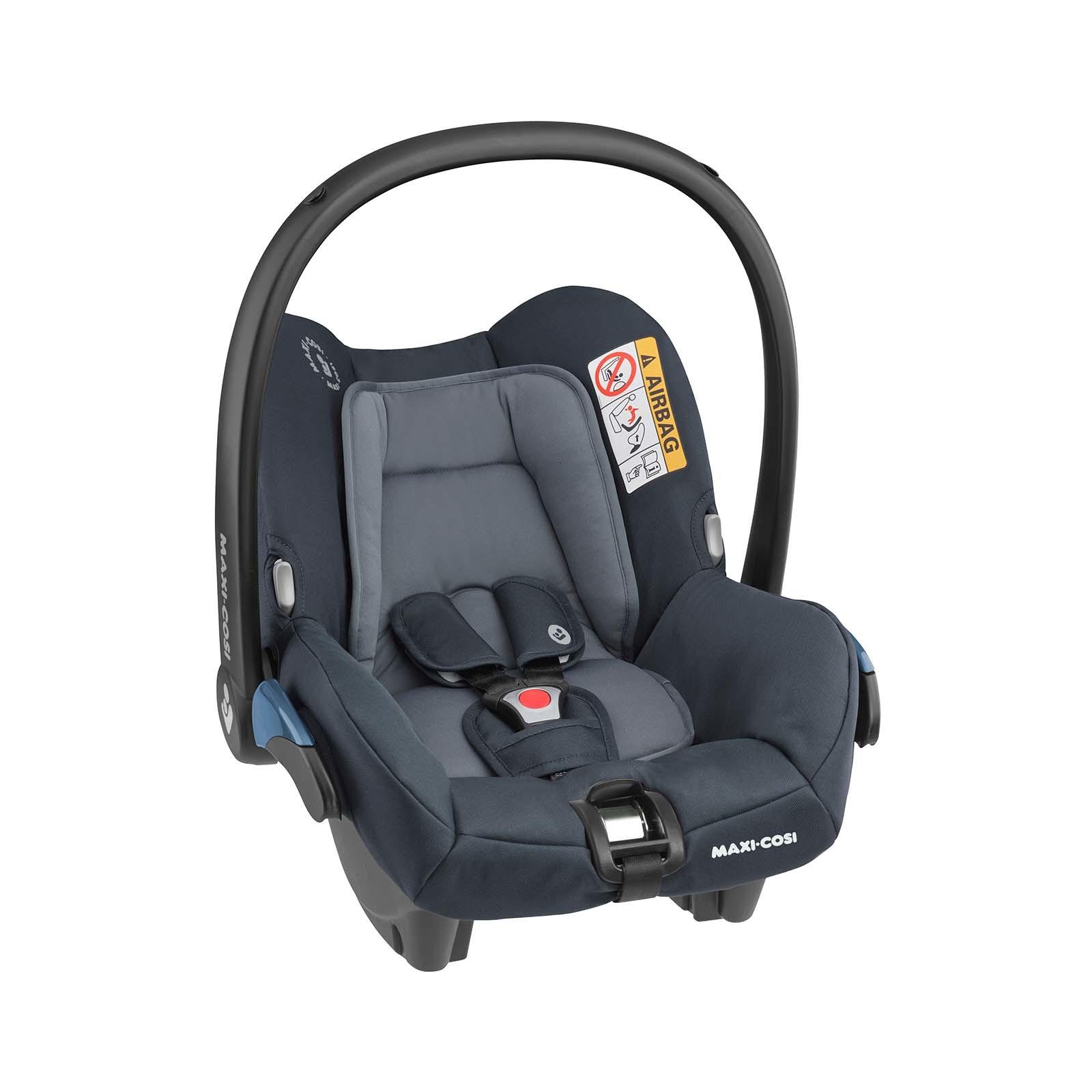 Bebê Conforto Citi c/ Base - 0 à 13 Kg - Essential Graphite - Maxi Cosi