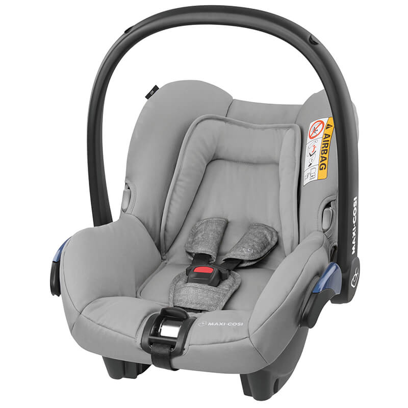 Bebê Conforto Citi c/ Base - 0 à 13 Kg - Nomad Grey - Maxi Cosi