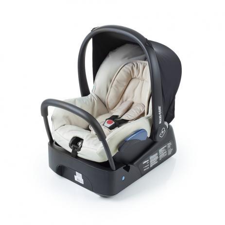 Bebê Conforto Citi Maxi Cosi c/ Base - 0 à 13 Kg - Nomad Sand