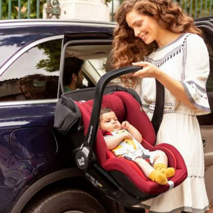 Bebê Conforto Marble Com Base Isofix - 0 À 13 KG  - Maxi Cosi - Black