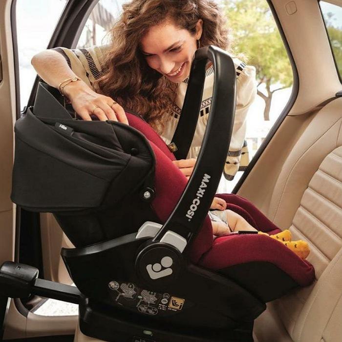 Bebê Conforto Marble Com Base Isofix - 0 À 13 KG - Maxi Cosi - Graphite