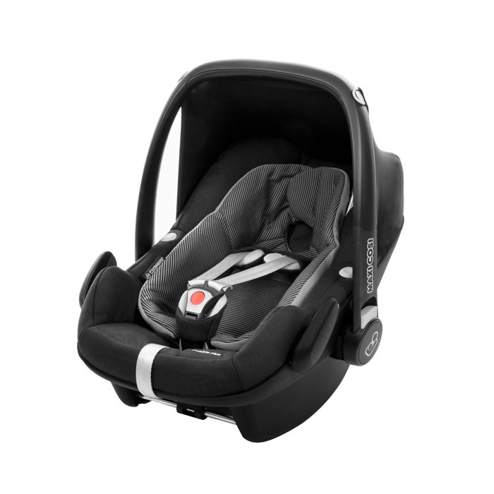 Bebe conforto Pebble Plus Black Raven - 0 à 13 Kg - Maxi Cosi