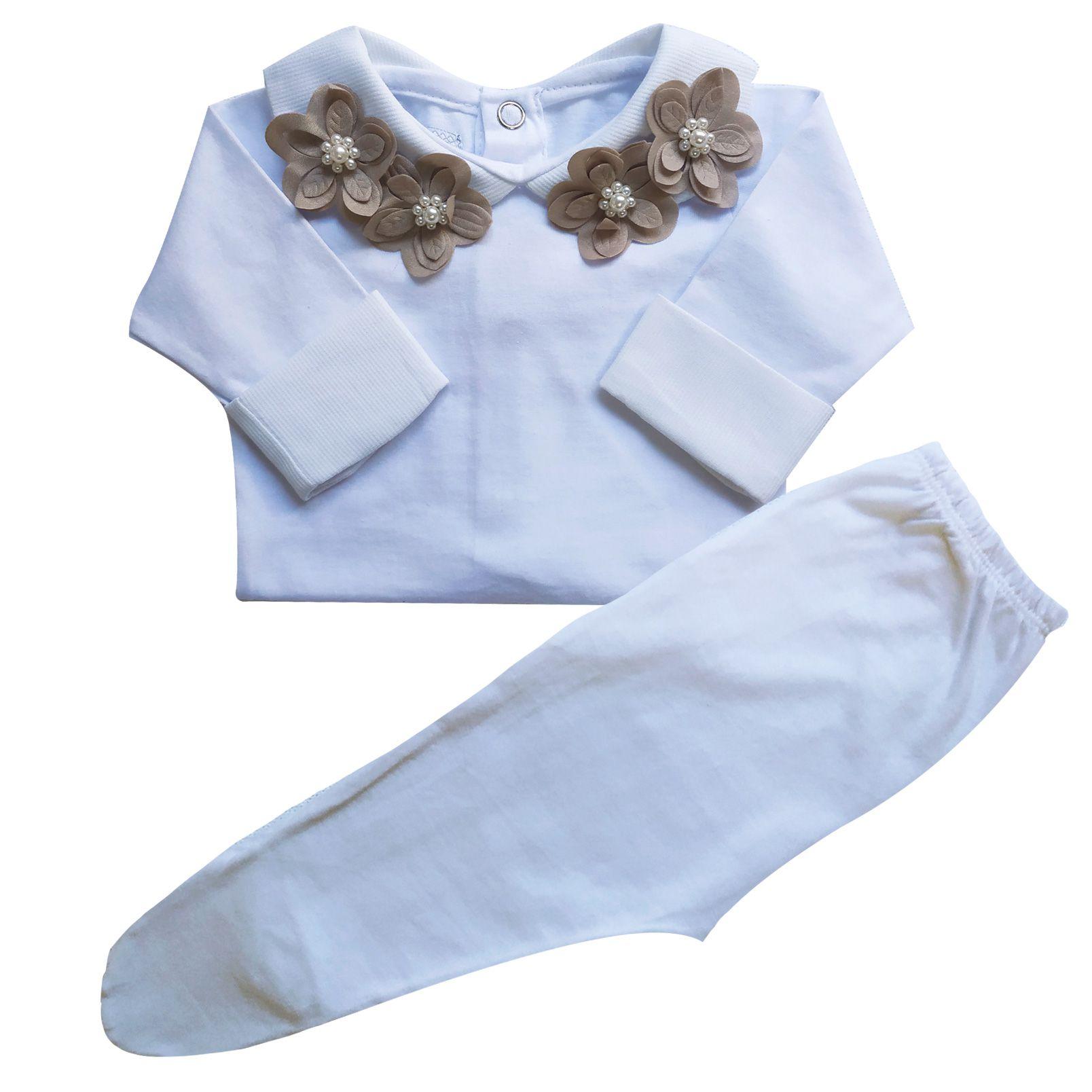 Body&Pant - Flores e Perolas