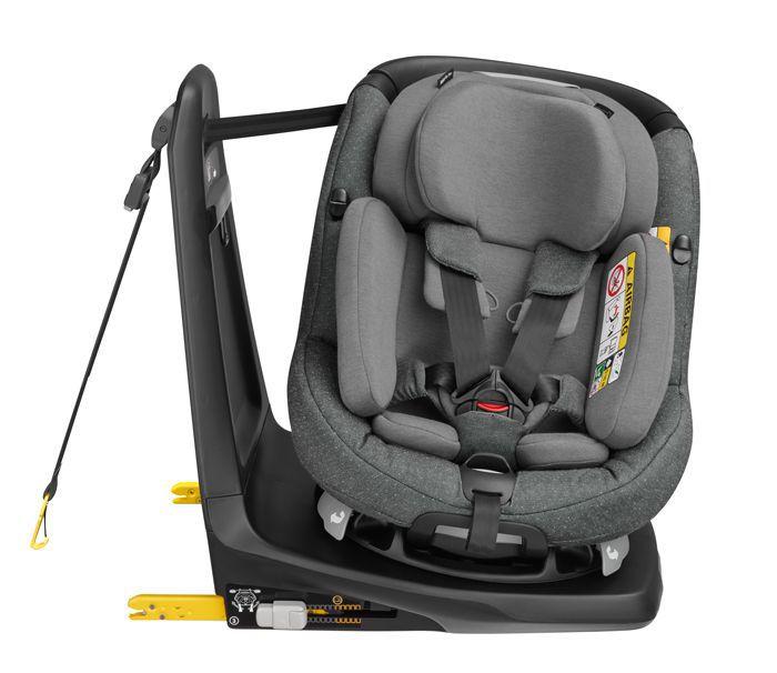 Cadeira AxissFix Plus - Sparkling Grey - 0 à 18 Kg - Maxi Cosi