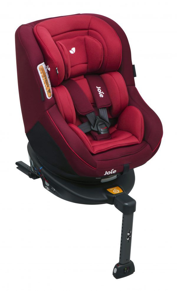 Cadeira Espin 360° - Vermelha Merlot - Isofix - Joie