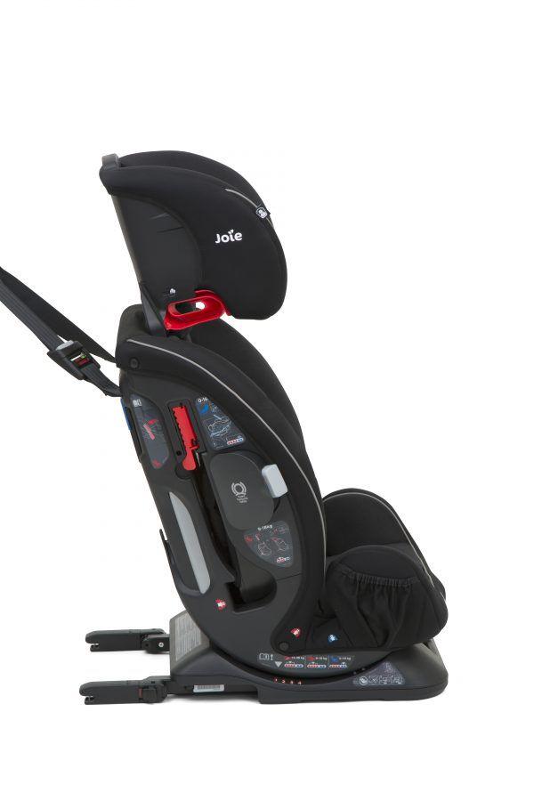 Cadeira Every Stage Fx - Preto Coal - Isofix - Joie