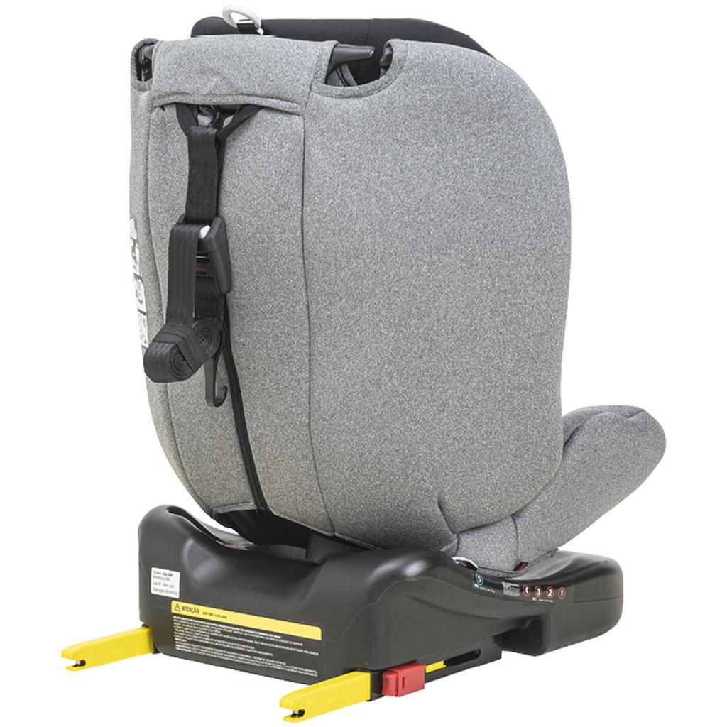Cadeira Indy 360° 0 Á 36 kg Melange Grafite - Isofix - Kiddo