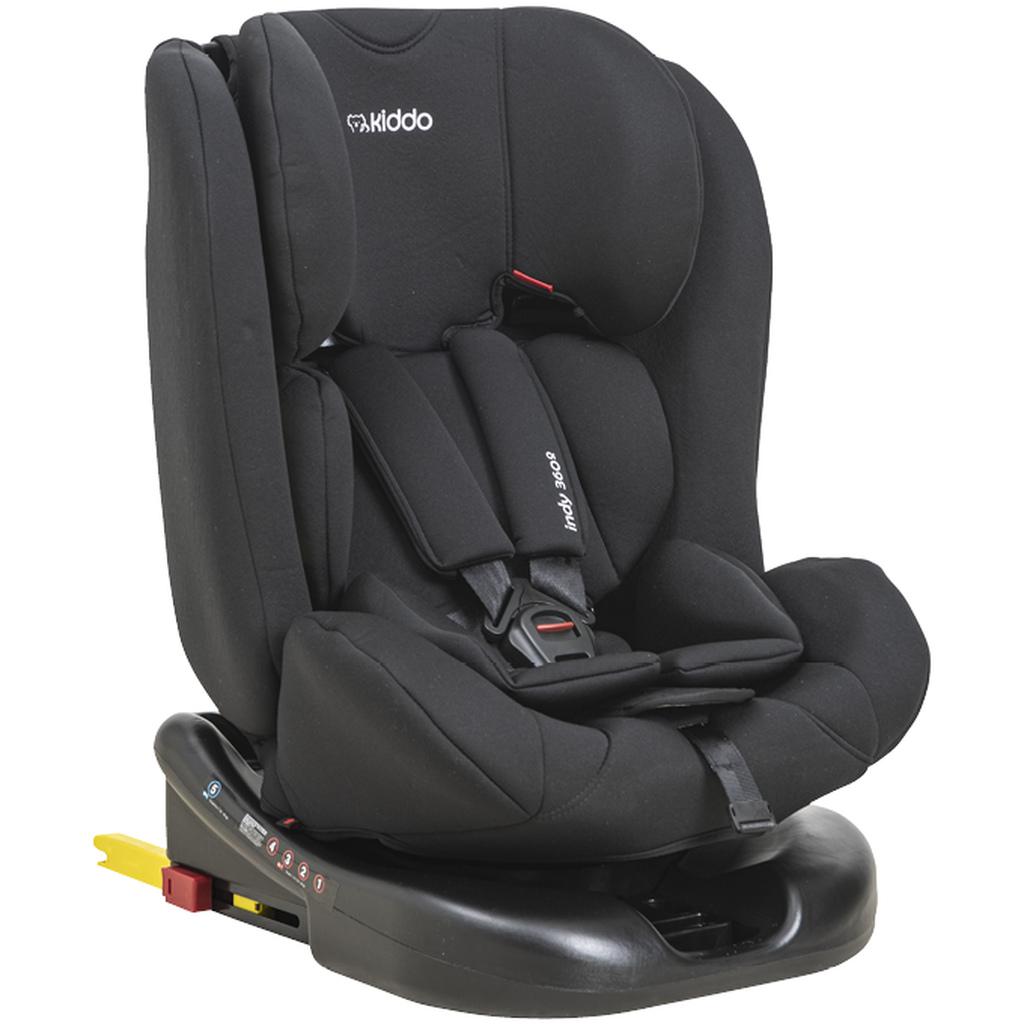 Cadeira Indy 360° 0 Á 36 Kg Preto - Isofix - Kiddo