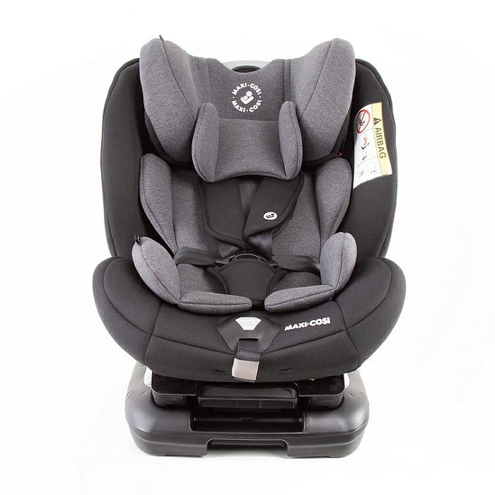 Cadeira Jasper - Authentic Black- 0 a 36 kg - Isofix - Maxi Cosi