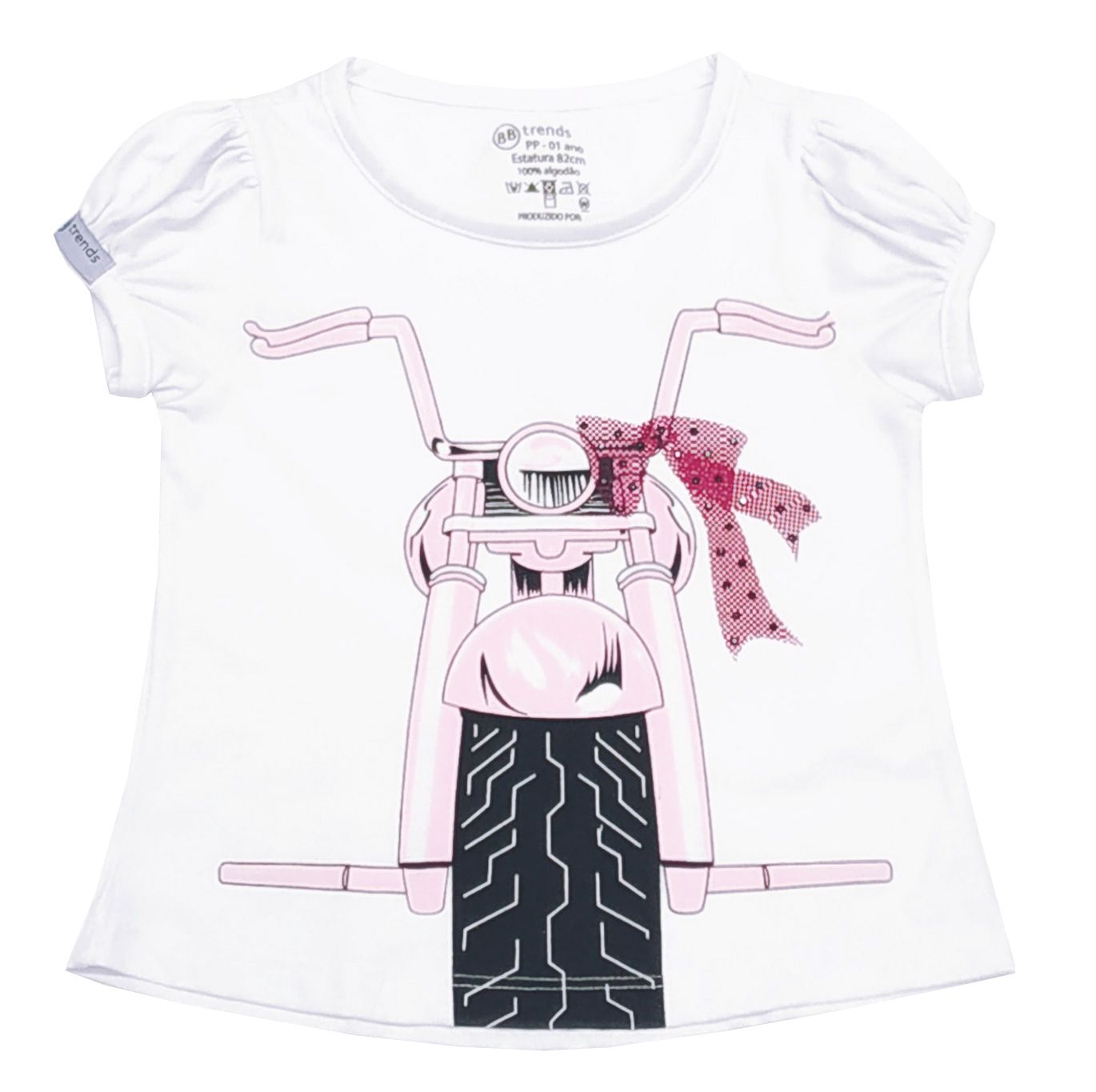 Camiseta Funny Moto Girls