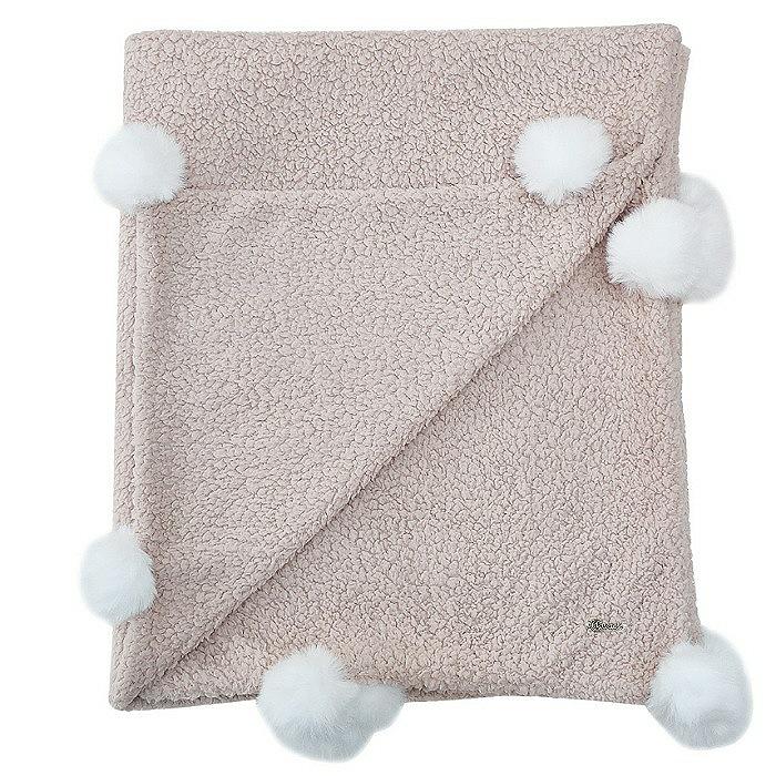 Cobertor Soft Bebê - Pompom