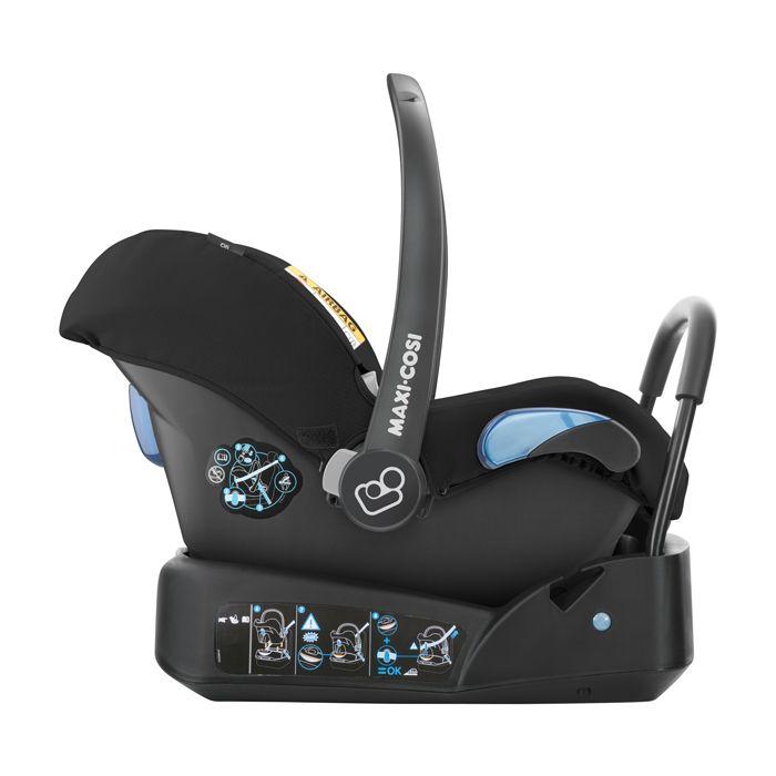 Bebê Conforto Citi Maxi Cosi c/ Base - 0 à 13 Kg - Nomade Black