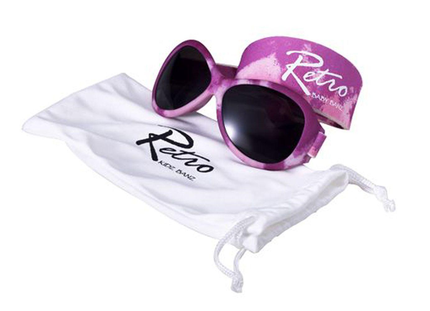 Kidz Banz Retro - Pink Camo - Oculos Escuros Protecao UV