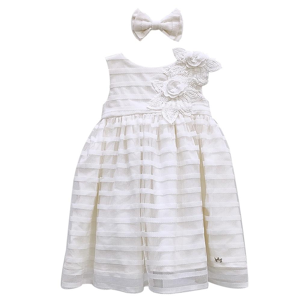 Kit Vestido Chanel - Aplique Flores