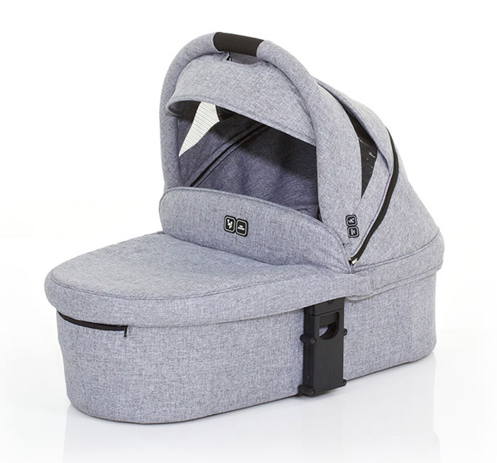Moisés Carrycot - Graphite Grey - ABC Design