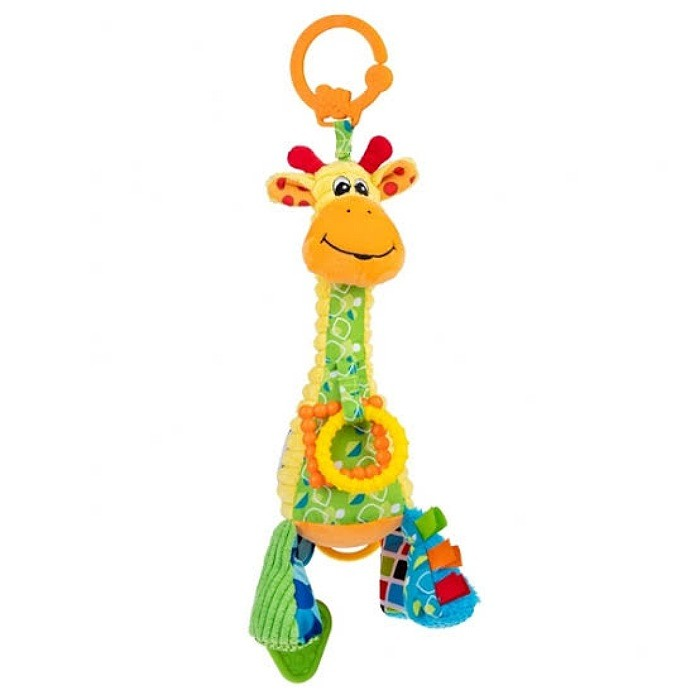 Pelucia Musical Pull String - Giraffe Gina