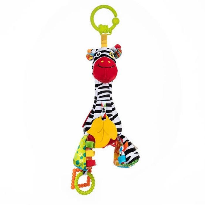 Pelucia Musical Pull String - Zebra Bell